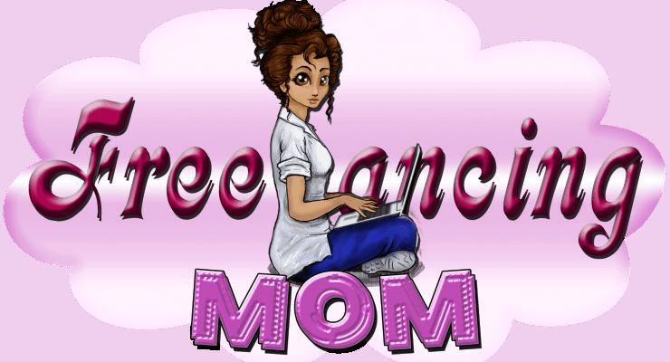 freelancing mom logo